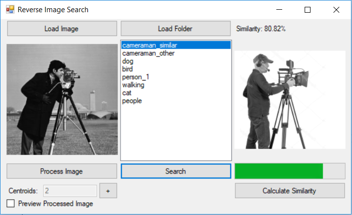 Image Search Demo Application