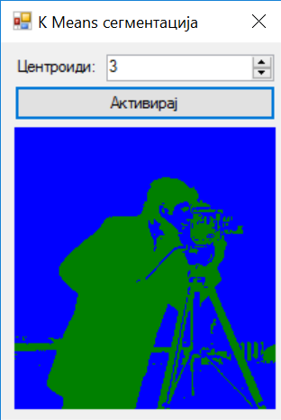 Image Segmentation with K-Means in C#