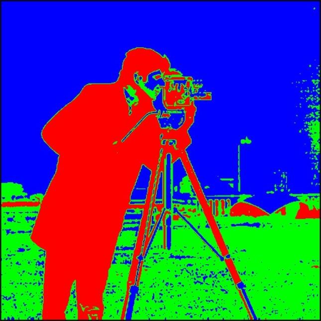Cameraman segmented