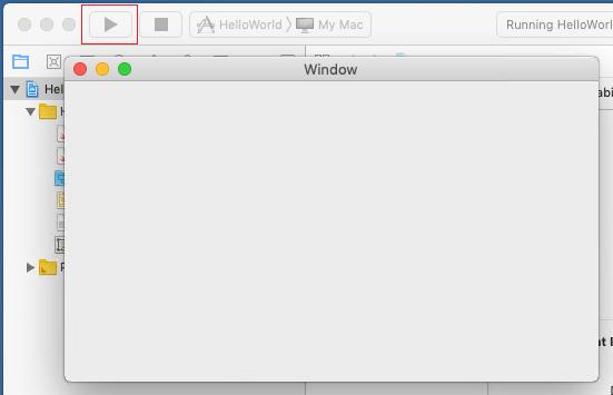 XCode: Toolbar