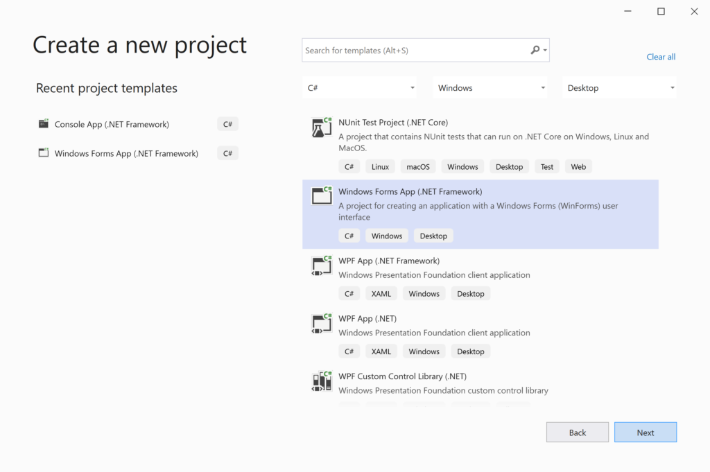 Windows Forms App