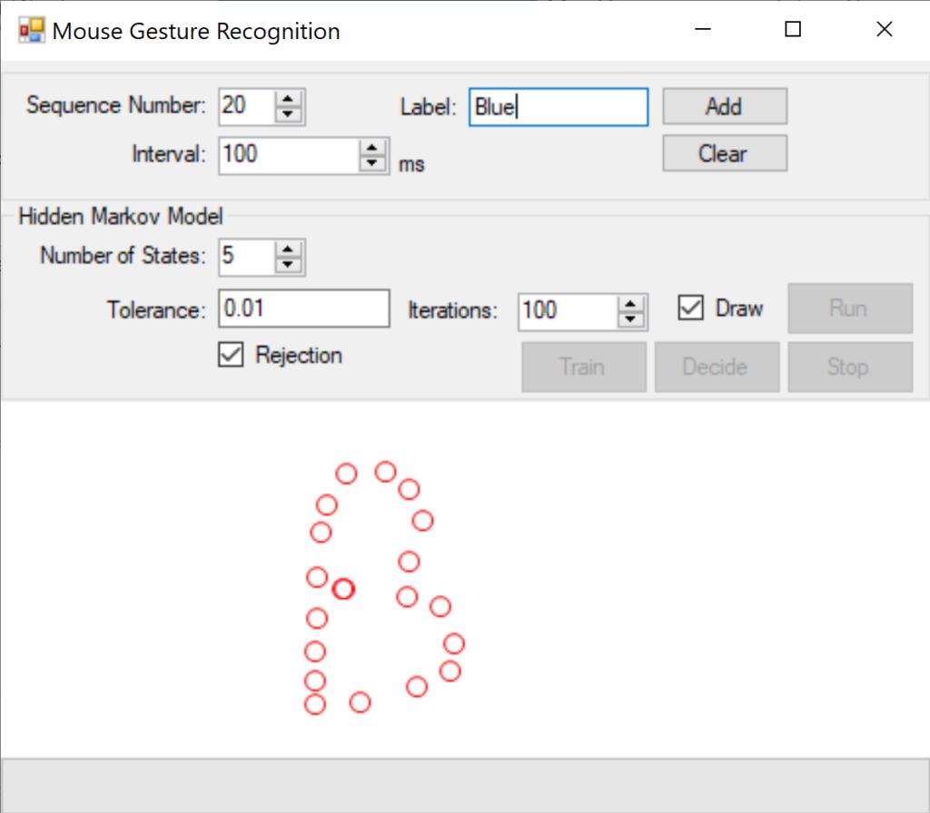 Hidden Markov Model in C#: Sequence Training