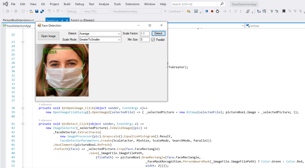 Face Recognition with ML.NET and Model Builder