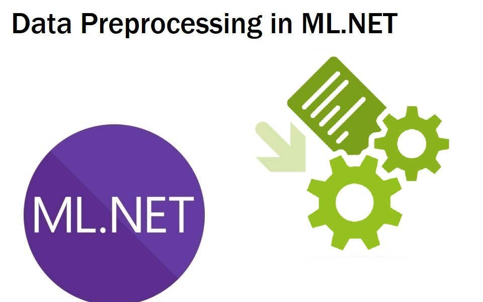 How to preprocess data using ML.NET